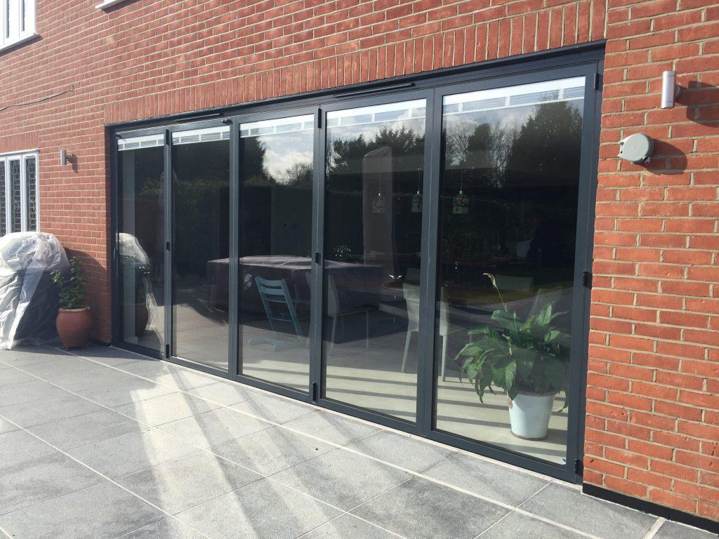 Bifold door installers london south east premier for Bifold outdoor doors