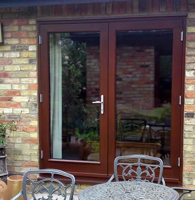 French door installers south london surrey premier for Brown upvc patio doors