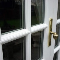 French door close up