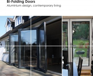 Aluminium Bi-folding brochure (Bi folding doors range)