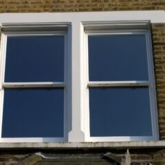 uPVC windows installed