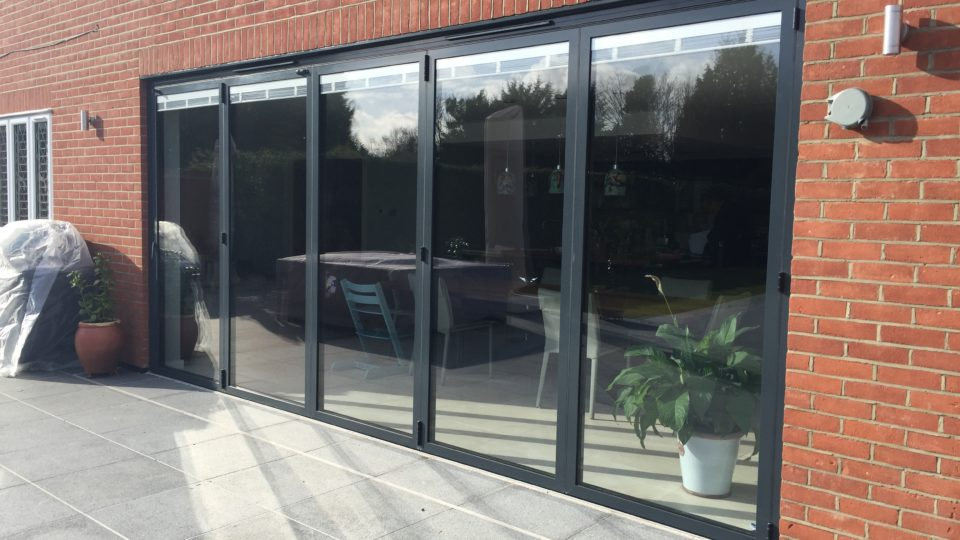 Bi-fold doors, exterior