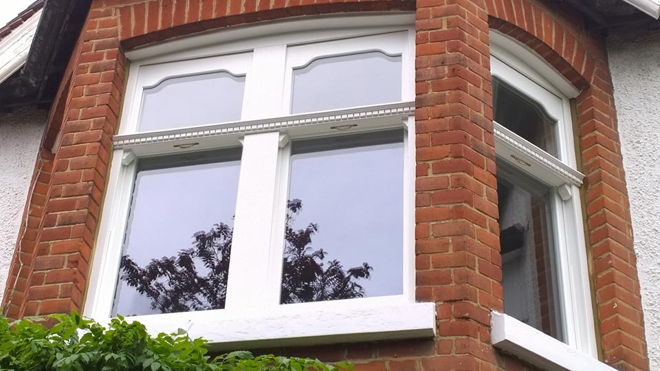 Timber sash windows London
