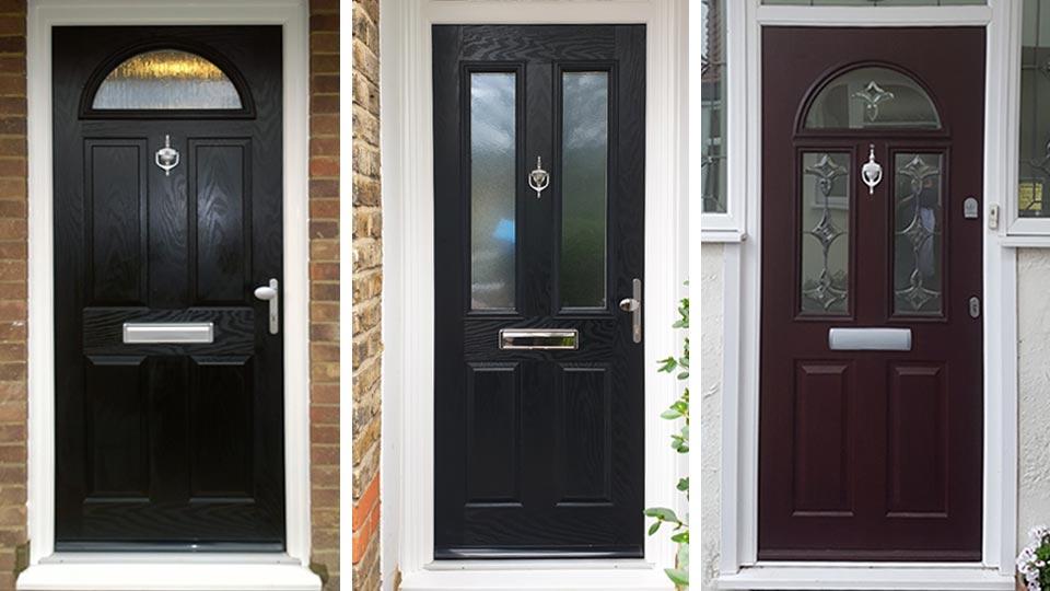 Composite entrance doors, London