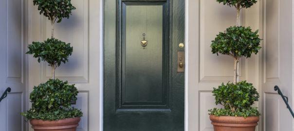 what is a composite front door