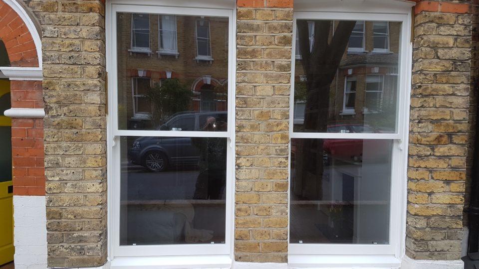 Installed upvc windows